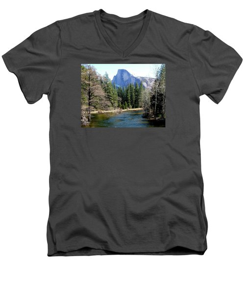 Half Dome Men's V-Neck T-Shirt
