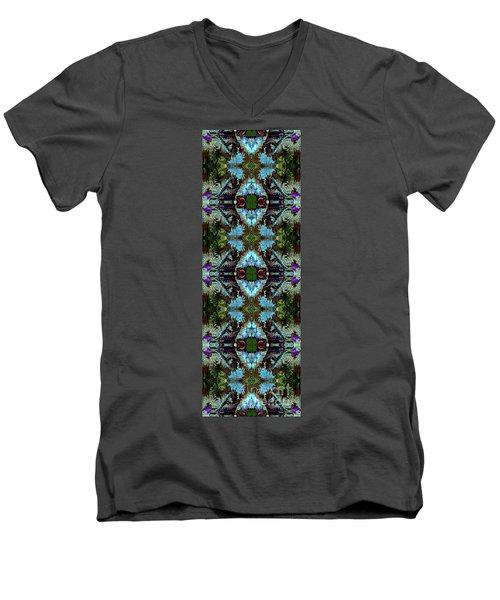 Half Lord Of The Fishes Ardha Matsyendrasana Men's V-Neck T-Shirt