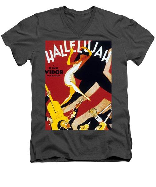 Hallelujah Men's V-Neck T-Shirt