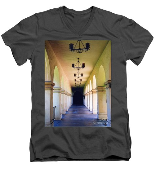 Hallowed Halls Men's V-Neck T-Shirt