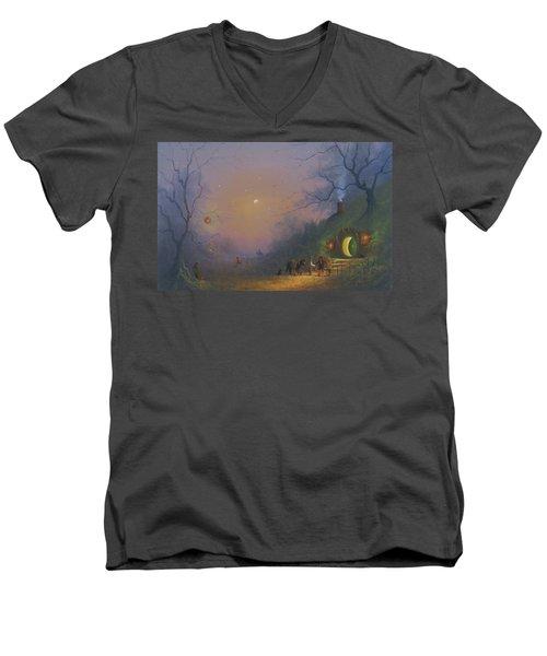 A Shire Halloween  Men's V-Neck T-Shirt