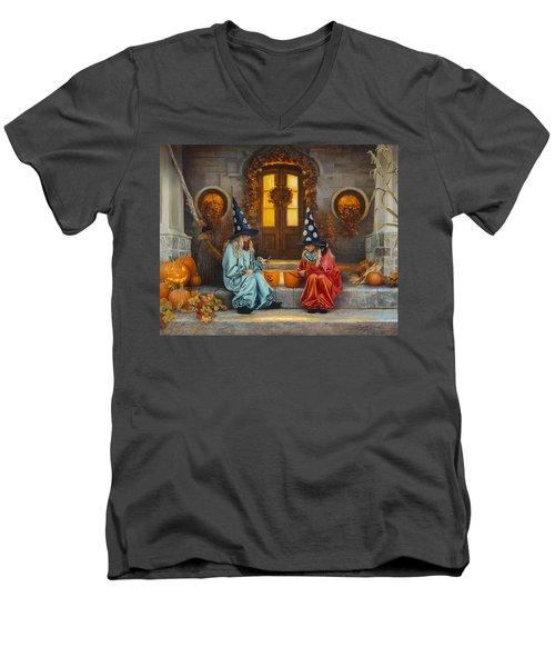 Halloween Sweetness Men's V-Neck T-Shirt