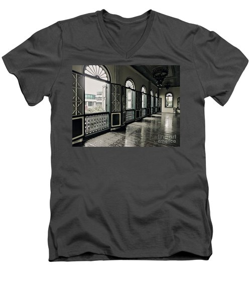 Hallway Men's V-Neck T-Shirt