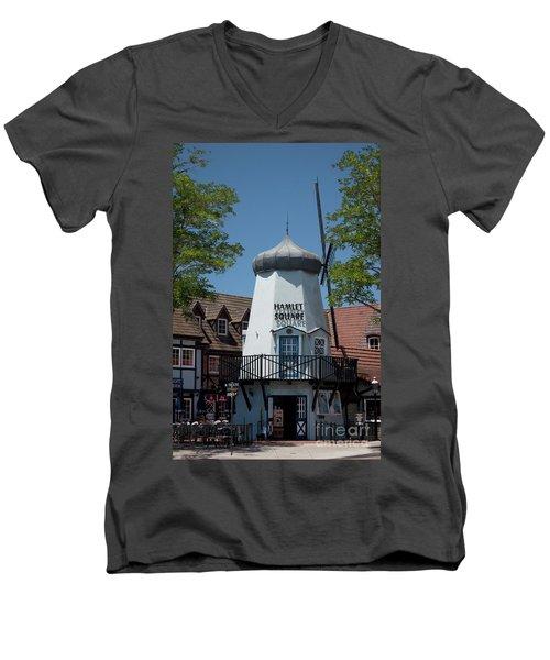 Hamlet Square Men's V-Neck T-Shirt