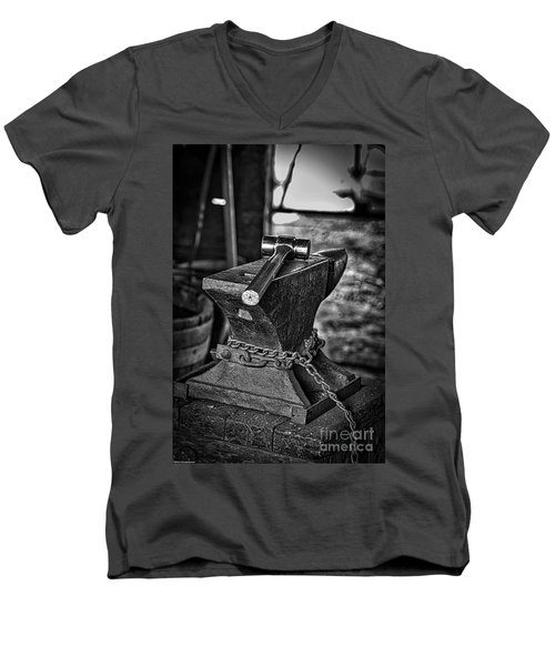 Hammer And Anvil Men's V-Neck T-Shirt