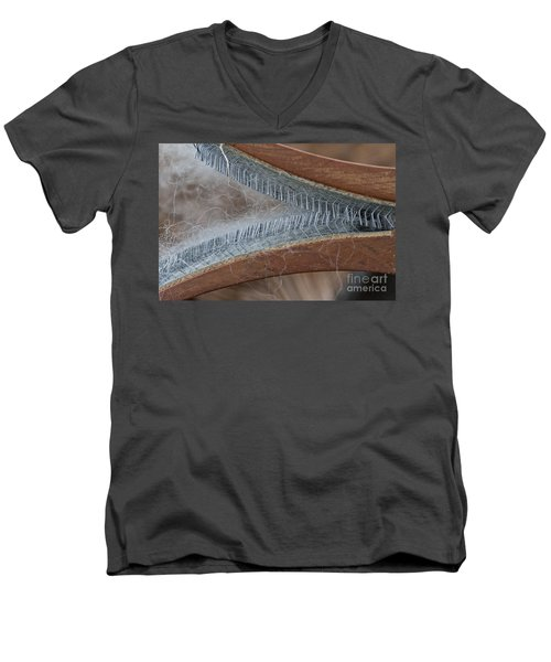 Hand Woolcarder Men's V-Neck T-Shirt by Wilma  Birdwell