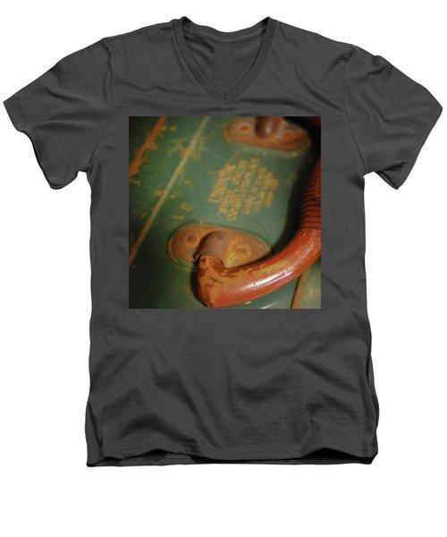 Handle On The Past Men's V-Neck T-Shirt