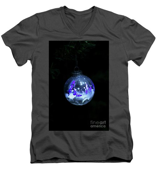 Handpainted Ornament 001 Men's V-Neck T-Shirt
