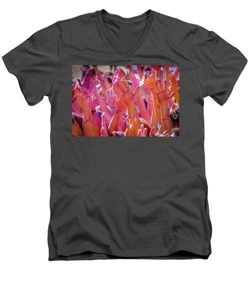 Hands Up Men's V-Neck T-Shirt