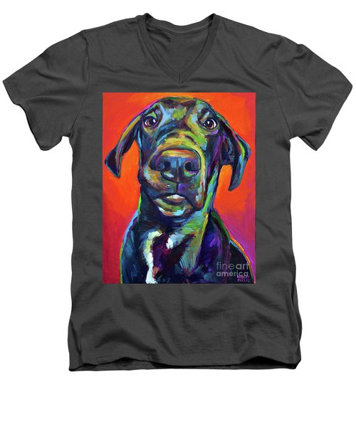 Handsome Hank Men's V-Neck T-Shirt