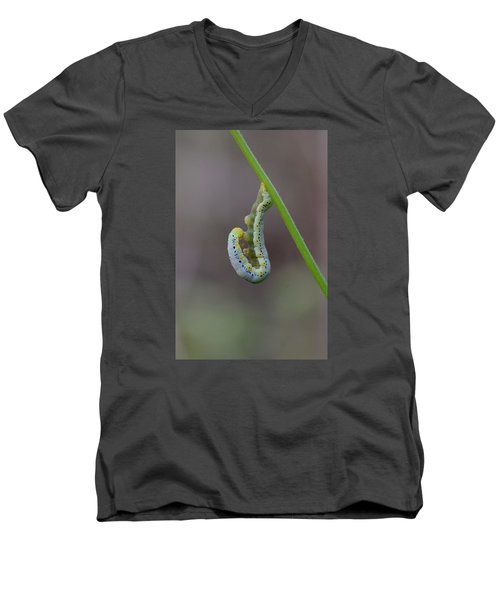 Hang, Then Reach Men's V-Neck T-Shirt