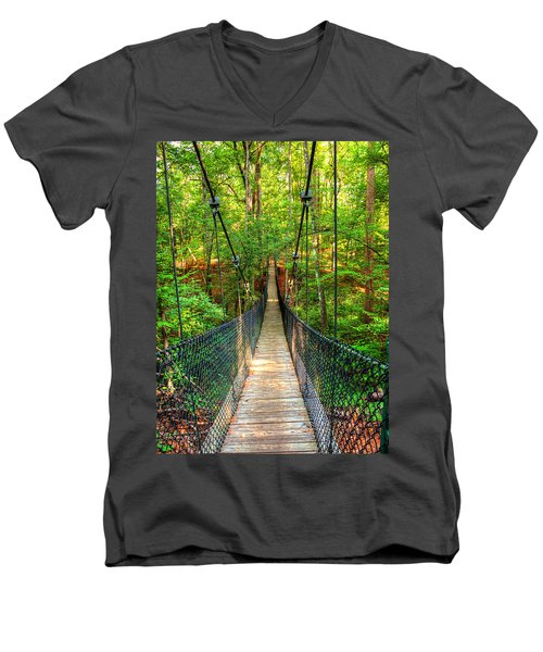 Hanging Bridge Men's V-Neck T-Shirt