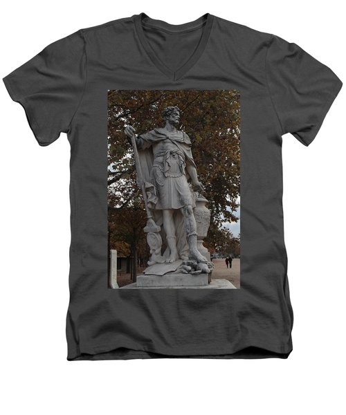 Hannibal Barca In Paris Men's V-Neck T-Shirt