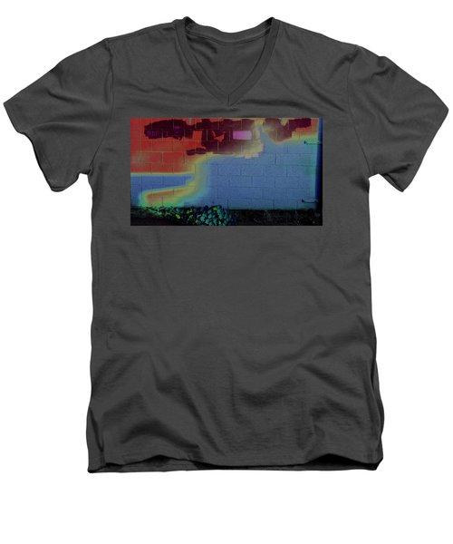 Hap One Men's V-Neck T-Shirt