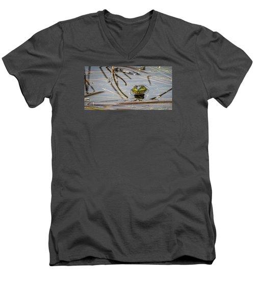 Happy As Afrog Men's V-Neck T-Shirt