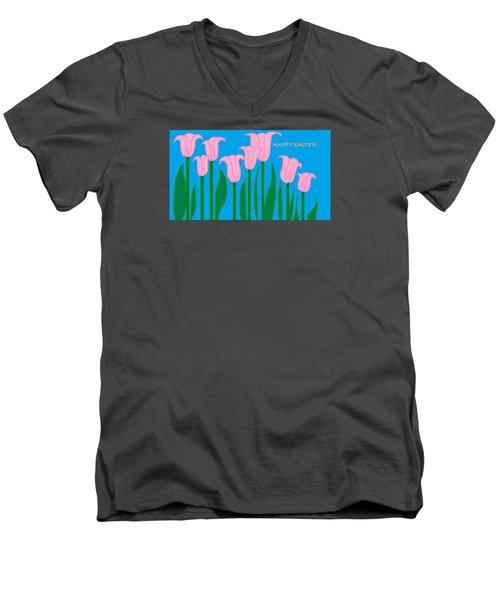 Happy Easter 1 Men's V-Neck T-Shirt