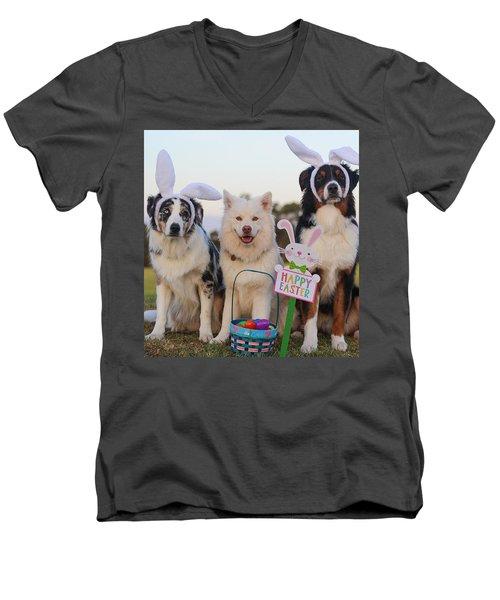 Happy Easter Men's V-Neck T-Shirt