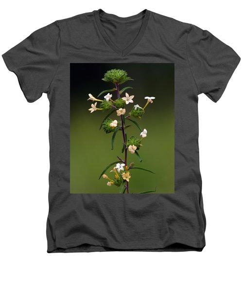 Happy Flowers Men's V-Neck T-Shirt