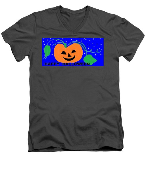 Happy Halloween 1 Men's V-Neck T-Shirt