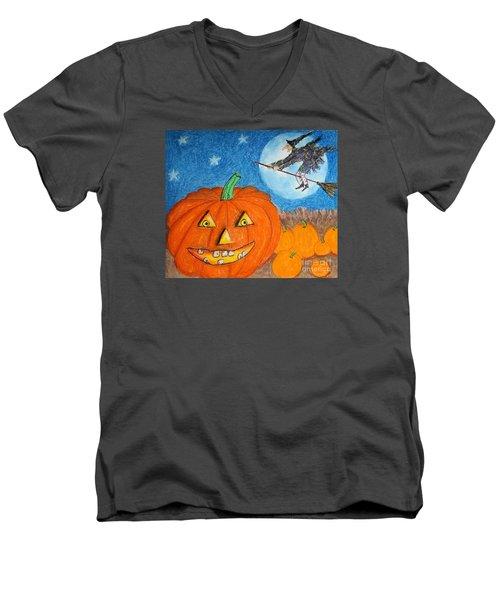 Happy Halloween Boo You Men's V-Neck T-Shirt