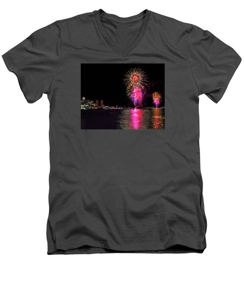 Happy Labor Day 214 Men's V-Neck T-Shirt