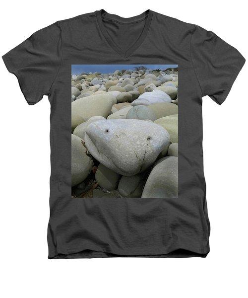 Happy Rock Men's V-Neck T-Shirt