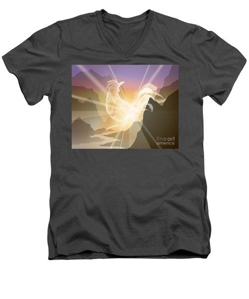 Harbinger Of Light Men's V-Neck T-Shirt