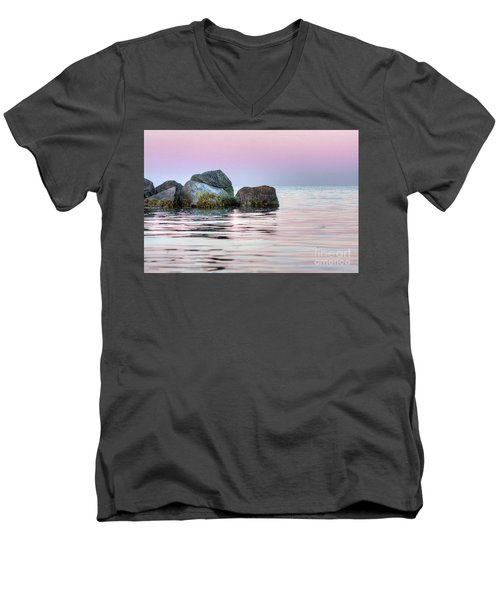 Harbor Breakwater Men's V-Neck T-Shirt