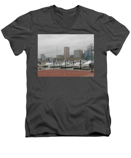 Harbor Happiness Men's V-Neck T-Shirt