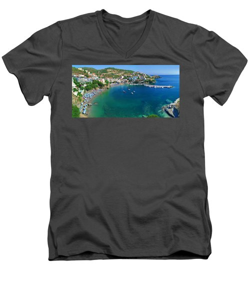 Harbor Of Bali Men's V-Neck T-Shirt