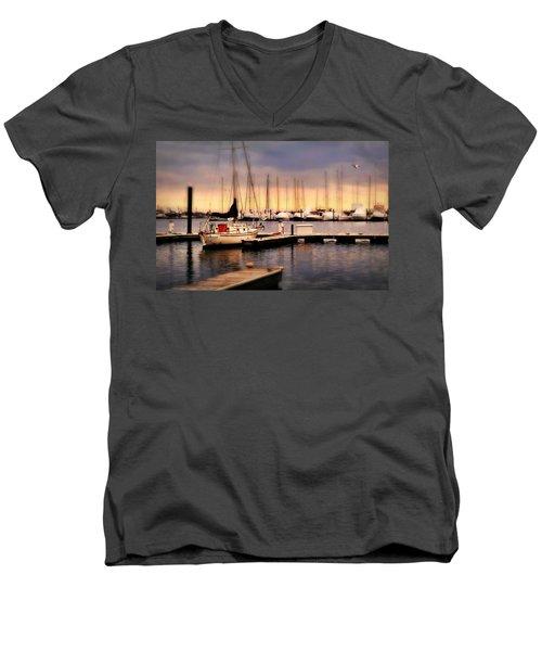 Harbor Point Stamford Men's V-Neck T-Shirt