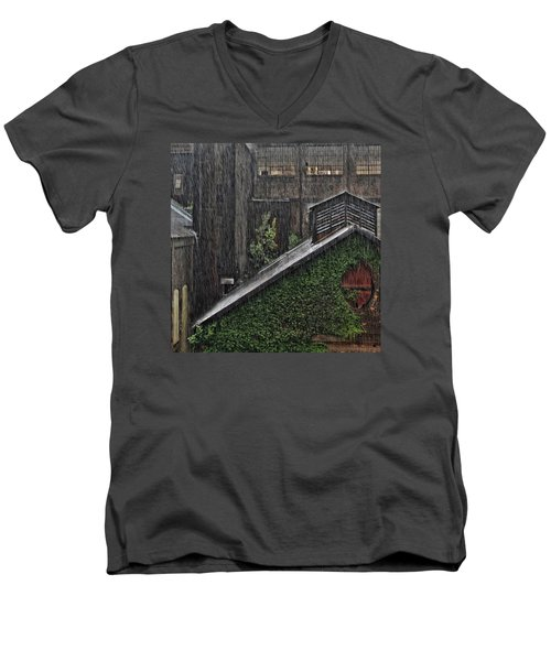 Hard Rain Men's V-Neck T-Shirt