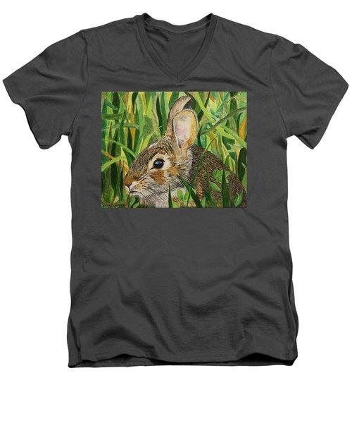 Hare's Breath Men's V-Neck T-Shirt