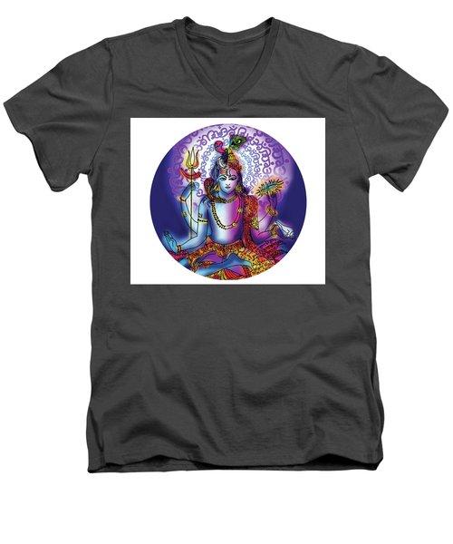 Hari Hara Krishna Vishnu Men's V-Neck T-Shirt