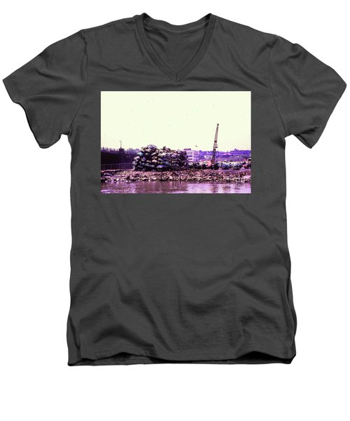 Harlem River Junkyard Men's V-Neck T-Shirt