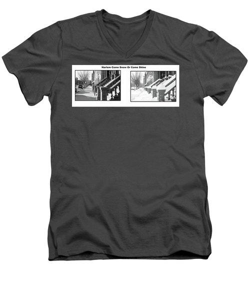 Harlem Summer Winter Men's V-Neck T-Shirt