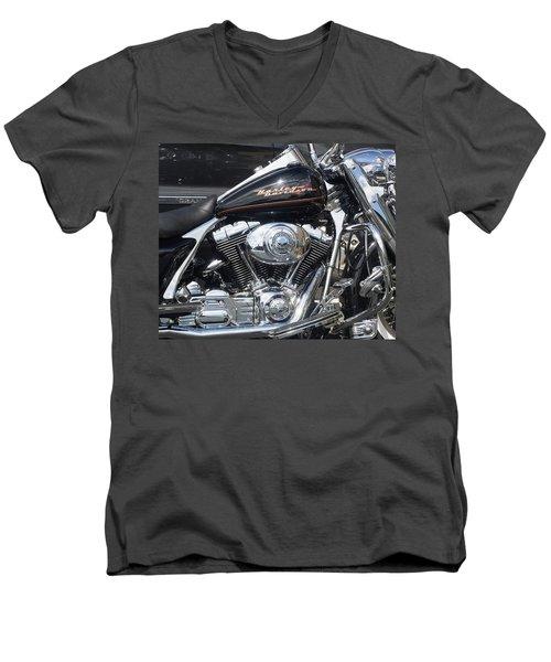 Harley Davidson Men's V-Neck T-Shirt