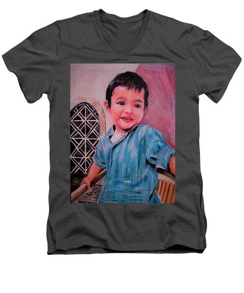Harmain Men's V-Neck T-Shirt