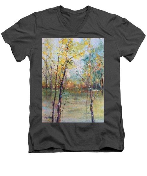 Harmony In Perfect Key Men's V-Neck T-Shirt