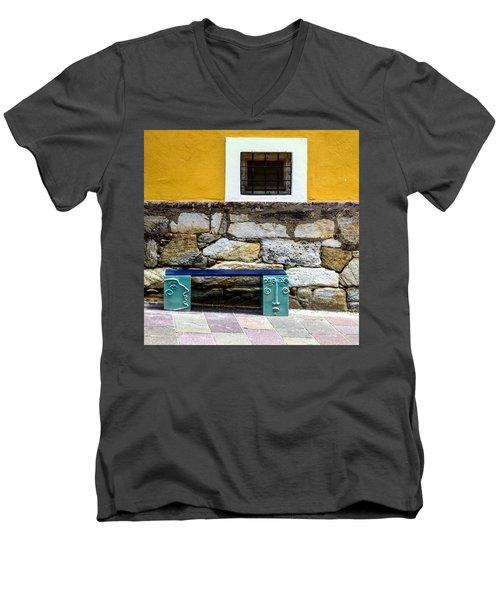 Hartberg Bench Men's V-Neck T-Shirt