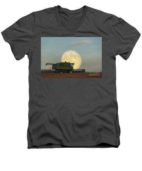 Harvest Moon Men's V-Neck T-Shirt