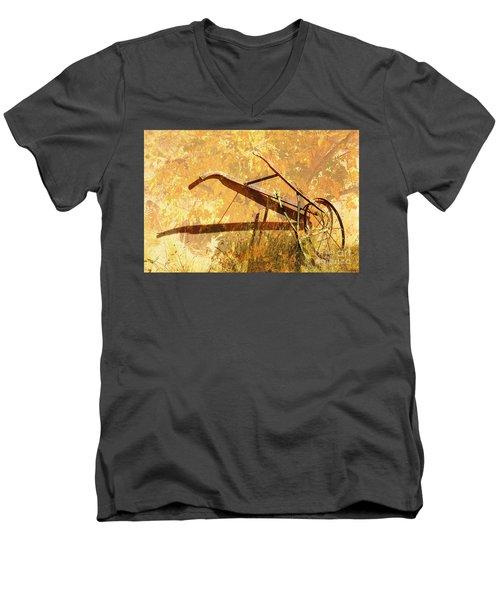 Harvest Plow Men's V-Neck T-Shirt