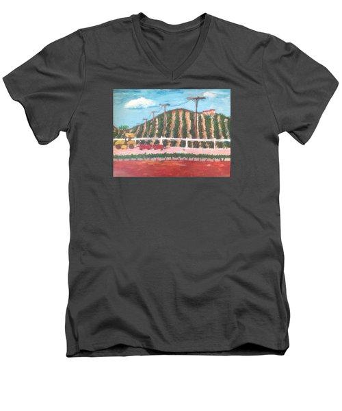 Harvest Season Temecula Men's V-Neck T-Shirt by Roxy Rich