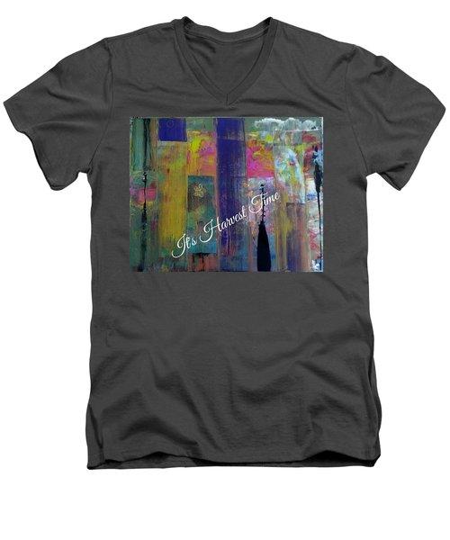 Harvest Time Jubilee Men's V-Neck T-Shirt by Kelly Turner