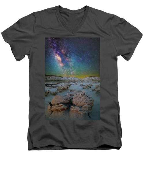 Hatched By The Stars Men's V-Neck T-Shirt