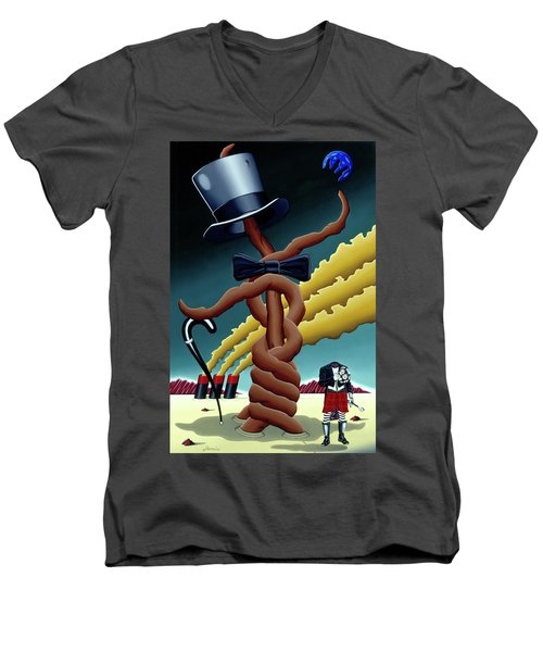 Hats Off Men's V-Neck T-Shirt