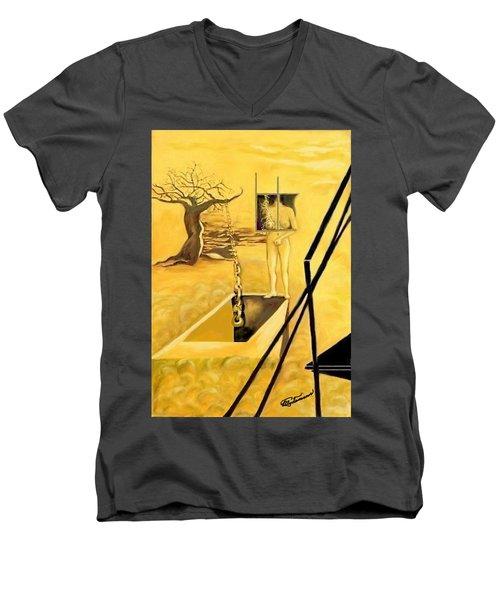 Haunted Dreams Men's V-Neck T-Shirt