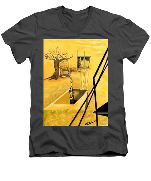 Haunted Dreams Men's V-Neck T-Shirt