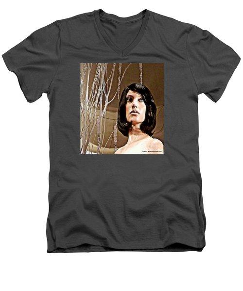 Haunting Men's V-Neck T-Shirt