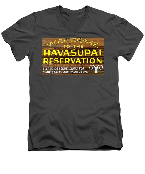 Havasupai Reservation Men's V-Neck T-Shirt